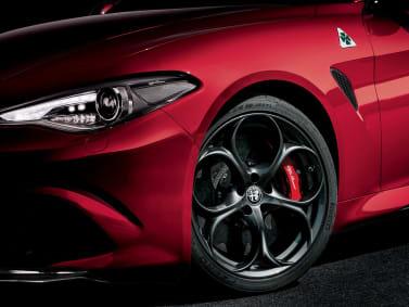 New Alfa Romeo Giulia Quadrifoglio Wheel