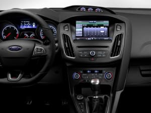 dashboard of ford focus st