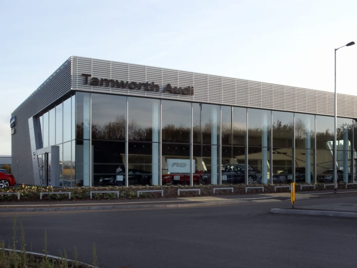 Approved Audi Dealership In Tamworth Official Dealers