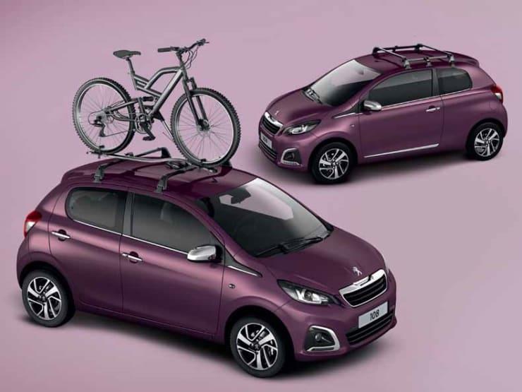 Peugeot 108 fietsendrager accessoire