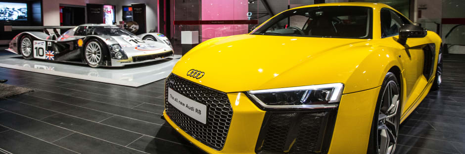 West London Audi Unveil The Brand New Audi R Sytner Group Limited - Audi new london