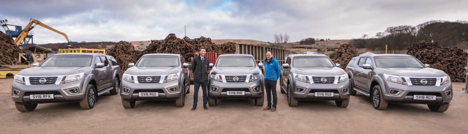 Specialist Cars Nissan provides Navara NP300 fleet to John Lawrie ...
