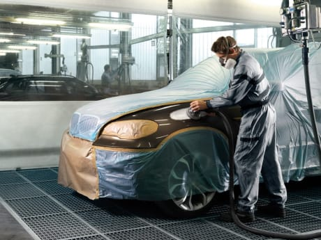Bmw Body Shop Cosmetic Repairs Sytner Bmw