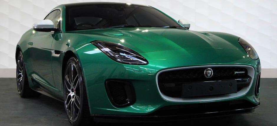 Jaguar F TYPE SVO