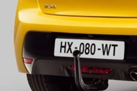 Peugeot 208 trekhaak accessoire