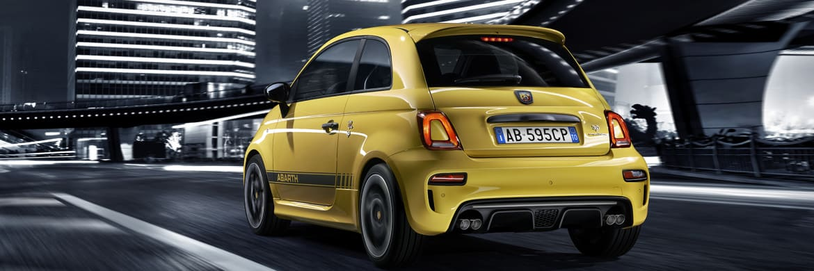 Abarth 595 Competizione Rear View