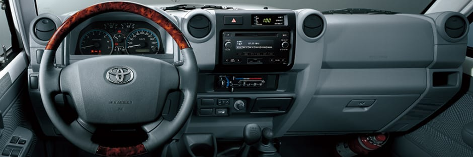 Inside The Cabin The Adjustable Steering Wheel In The Four Door Double  Cabin Variant Means You Can Tailor The Set Up To Match Your Requirements.