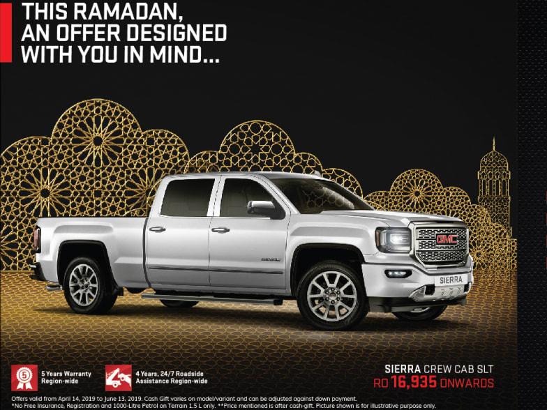 Ramadan offer   Oman   Moosa GMC