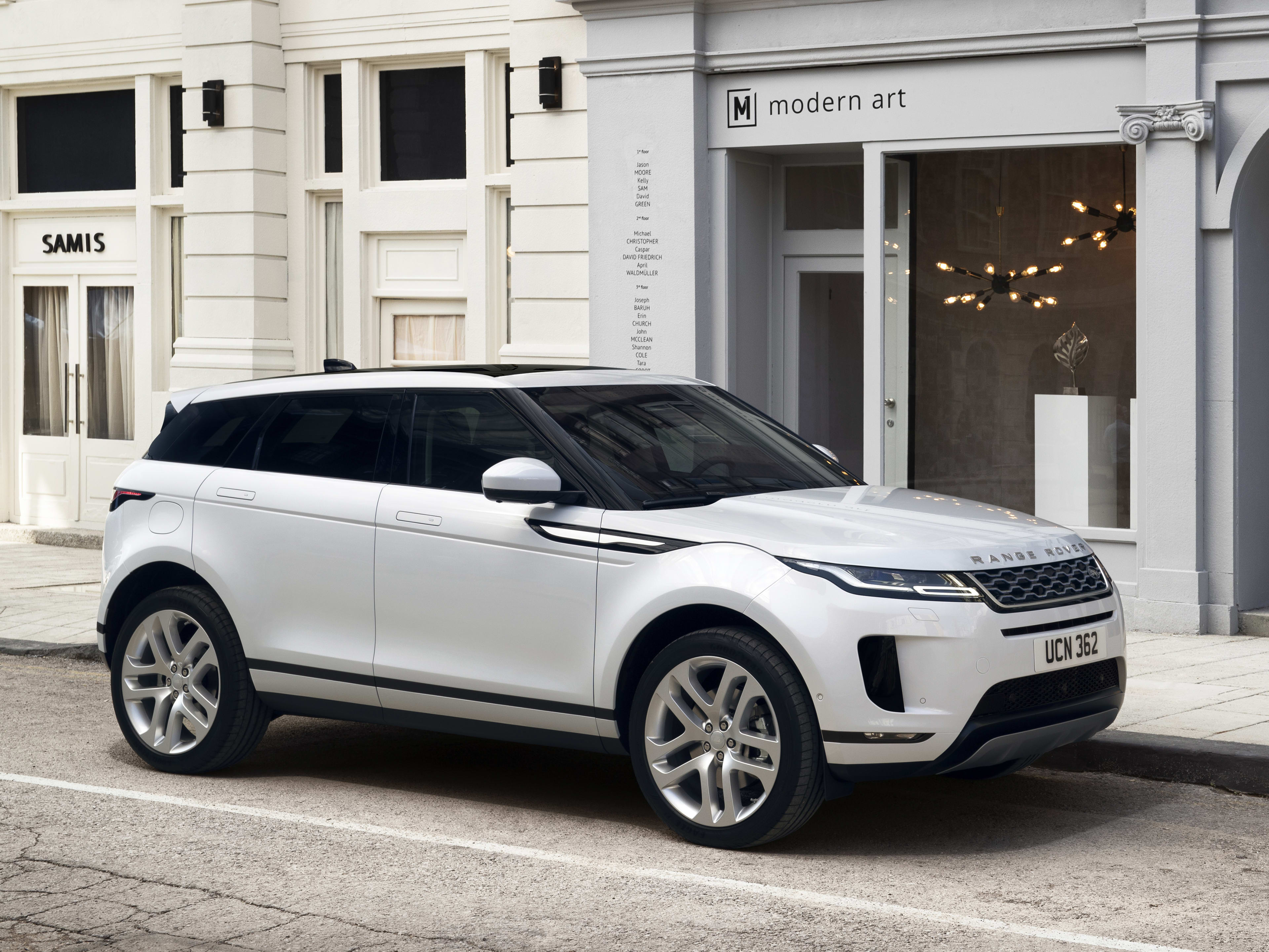 New Range Rover >> New Range Rover Evoque