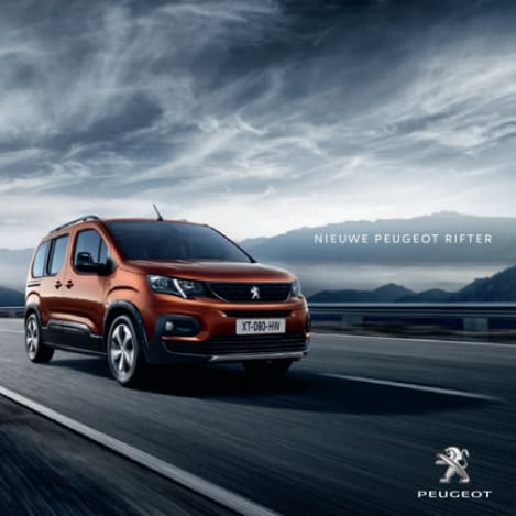 Brochure Peugeot Rifter