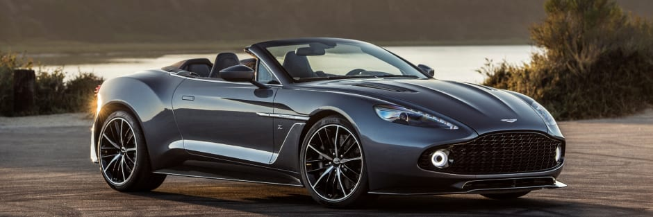 Two New Aston Martin Vanquish Zagato Models Unveiled - New aston martin zagato
