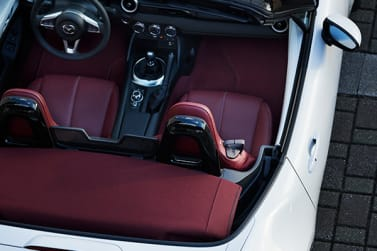 New Mazda 100th Anniversary Edition interior cabin