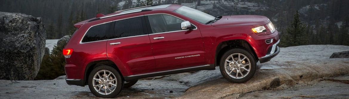 New Jeep Grand Cherokee Side View