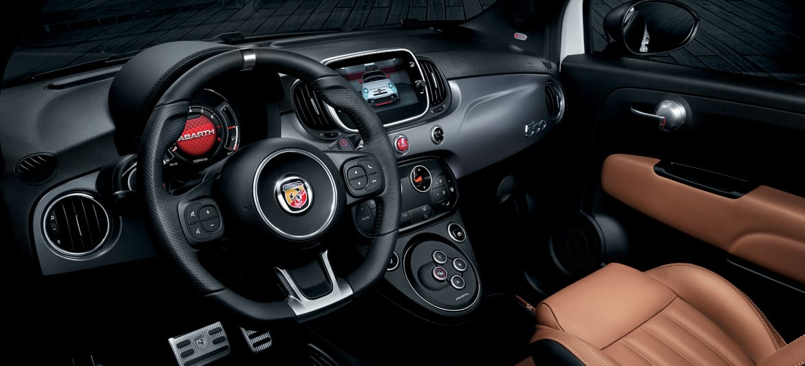 Abarth 595 Turismo Interior