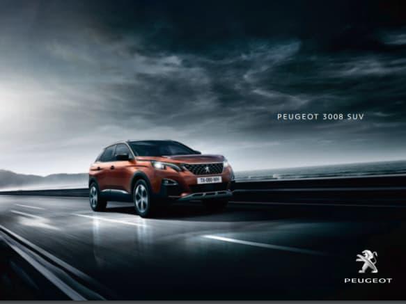 Brochure Peugeot 3008 SUV