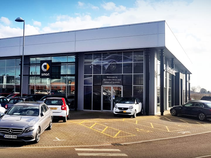 Approved Mercedes-Benz Dealership in Ipswich | Official Dealers