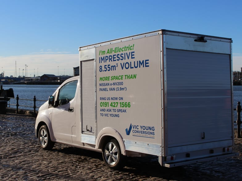vic young conversions | first to sell electric box van