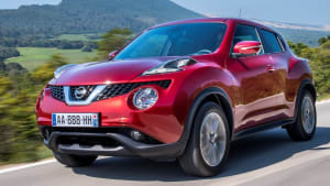 New Nissan Juke Exterior Red