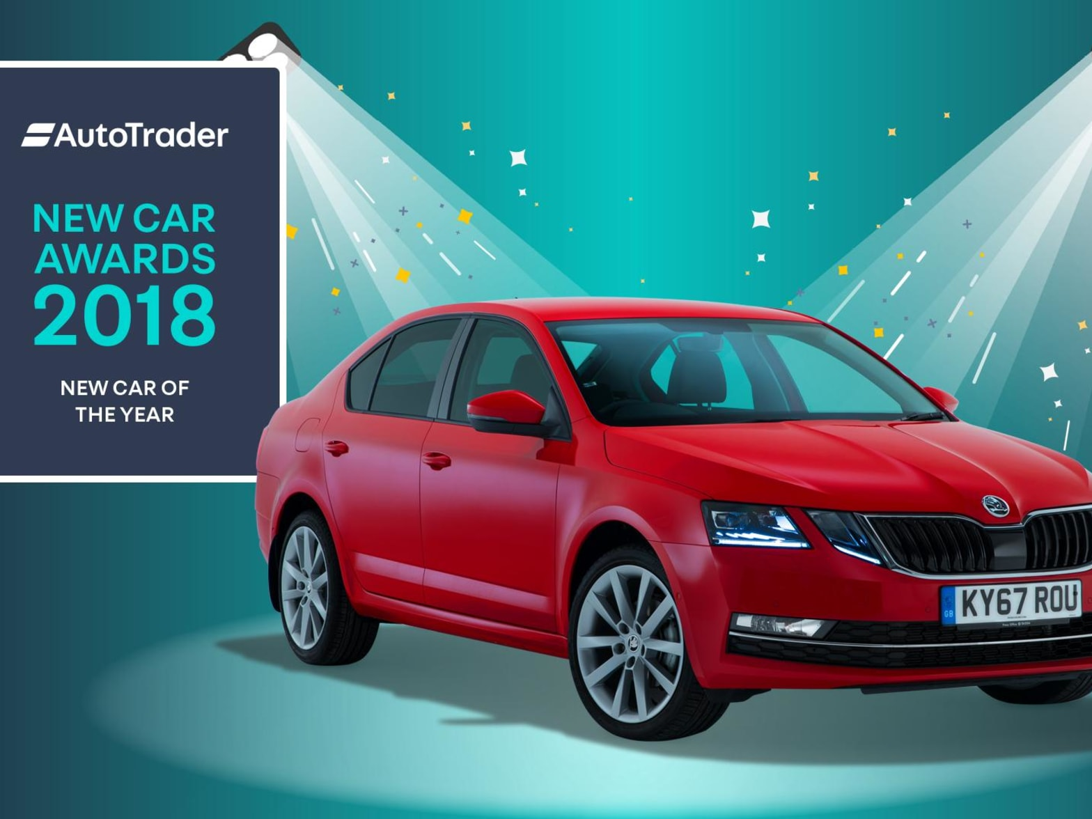 Skoda Octavia Awarded Car Of The Year At The 2018 Auto Trader Awards North Wales Sytner Skoda