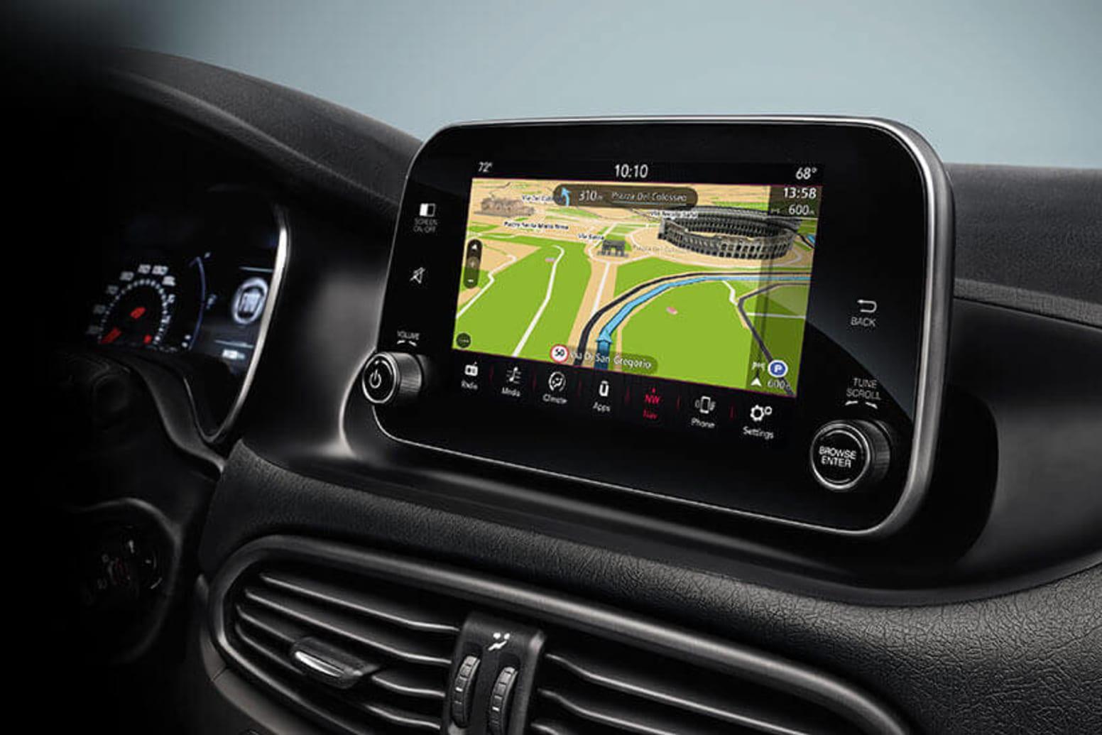 Fiat Tipo Sedan Technology