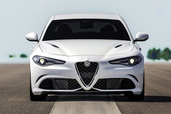 New Alfa Romeo Giulia Quadrifoglio Front View