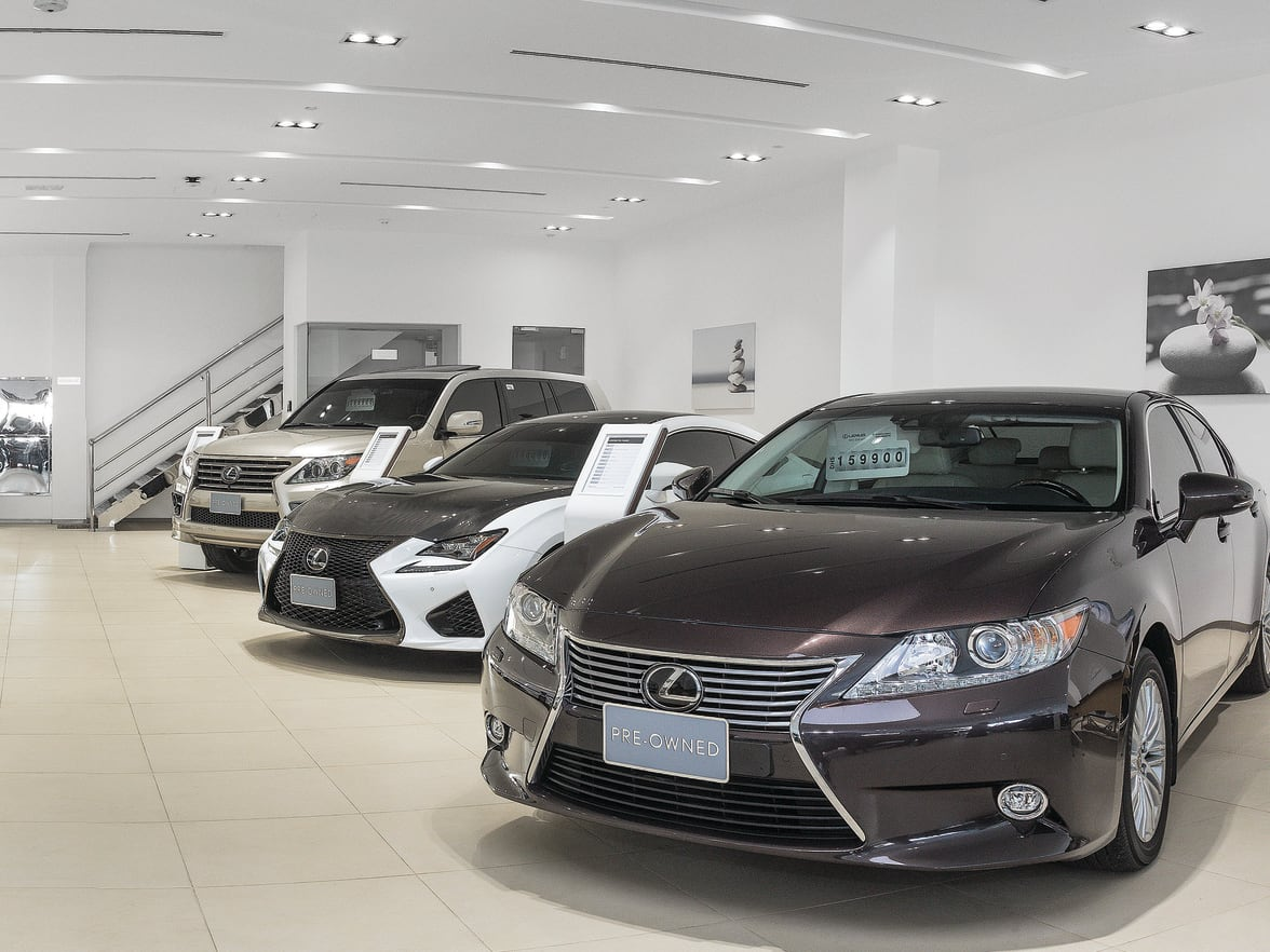 Pre-Owned Lexus Pre-Owned Showroom now open Visit our dedicated Lexus  Pre-Owned showroom on Sheikh Zayed Road (near Gold & Diamond Park), Dubai.