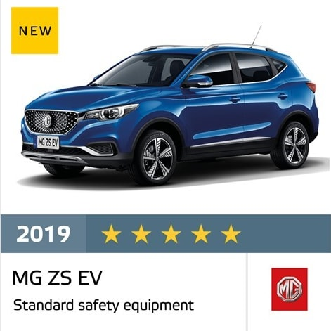 Mg Zs Ev And Mg Hs Were Awarded Five Stars By Euro Ncap Mg Motor