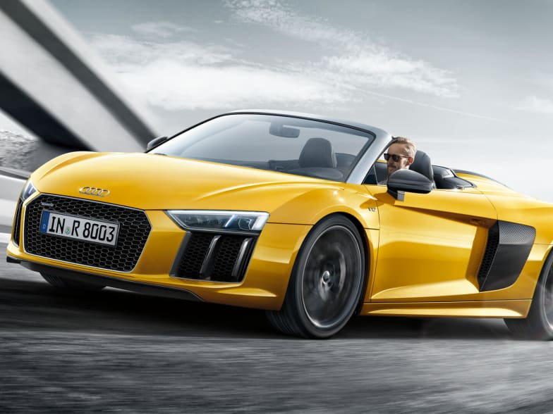 New Audi R8 Spyder Finance Available Marshalls Audi