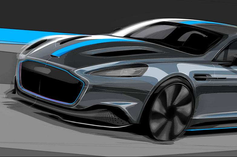 New Aston Martin RapidE Electric For Sale | Lancaster Aston Martin