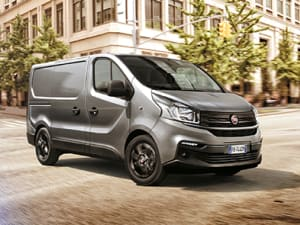 The New Fiat Talento Panel Van Was Developed To Make Loading Area More Practical Its Innovative Trapdoor CargoPlus Under Passenger Bench Allows