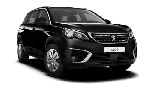 Peugeot 5008 SUV zwart