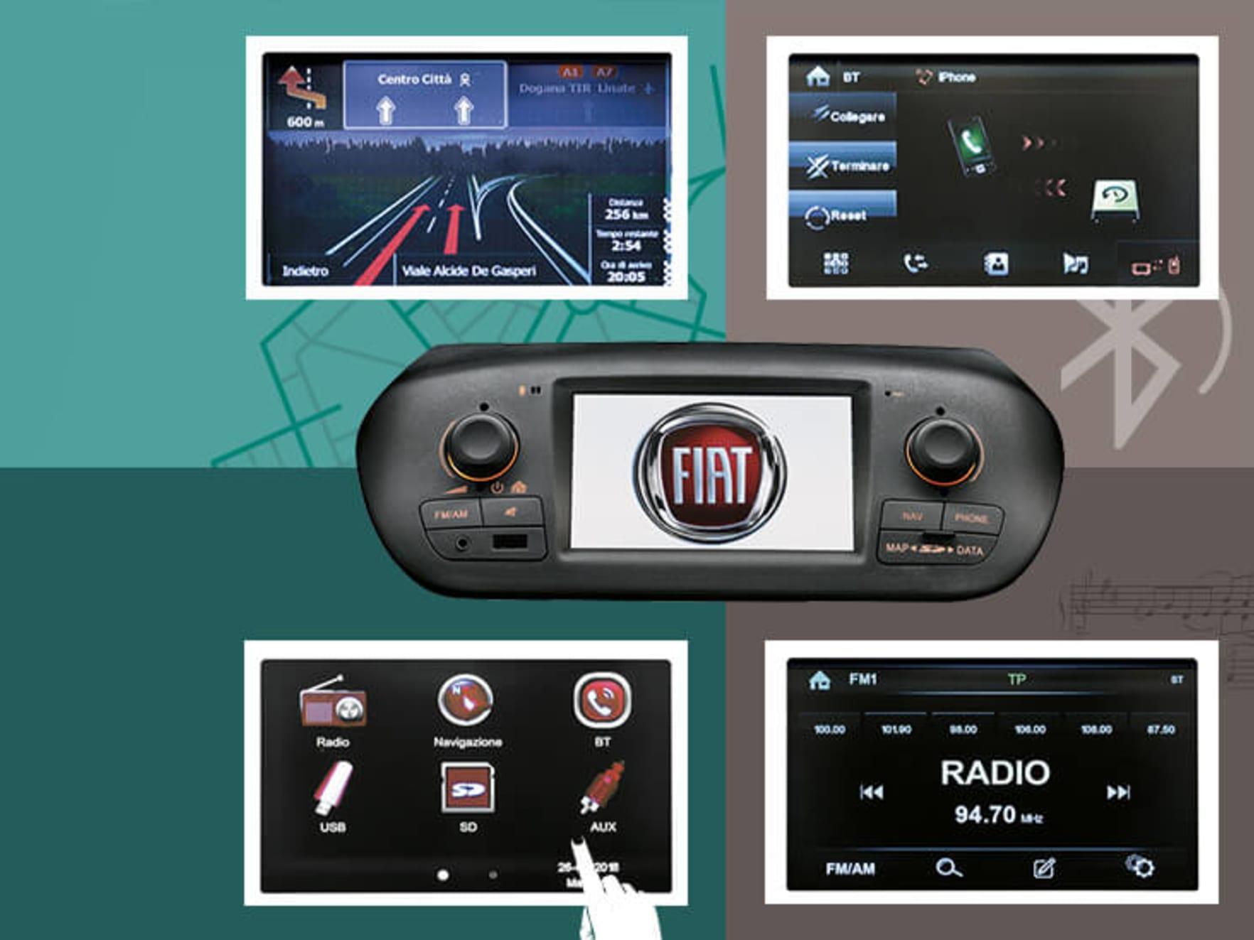 Fiat Qubo Radio