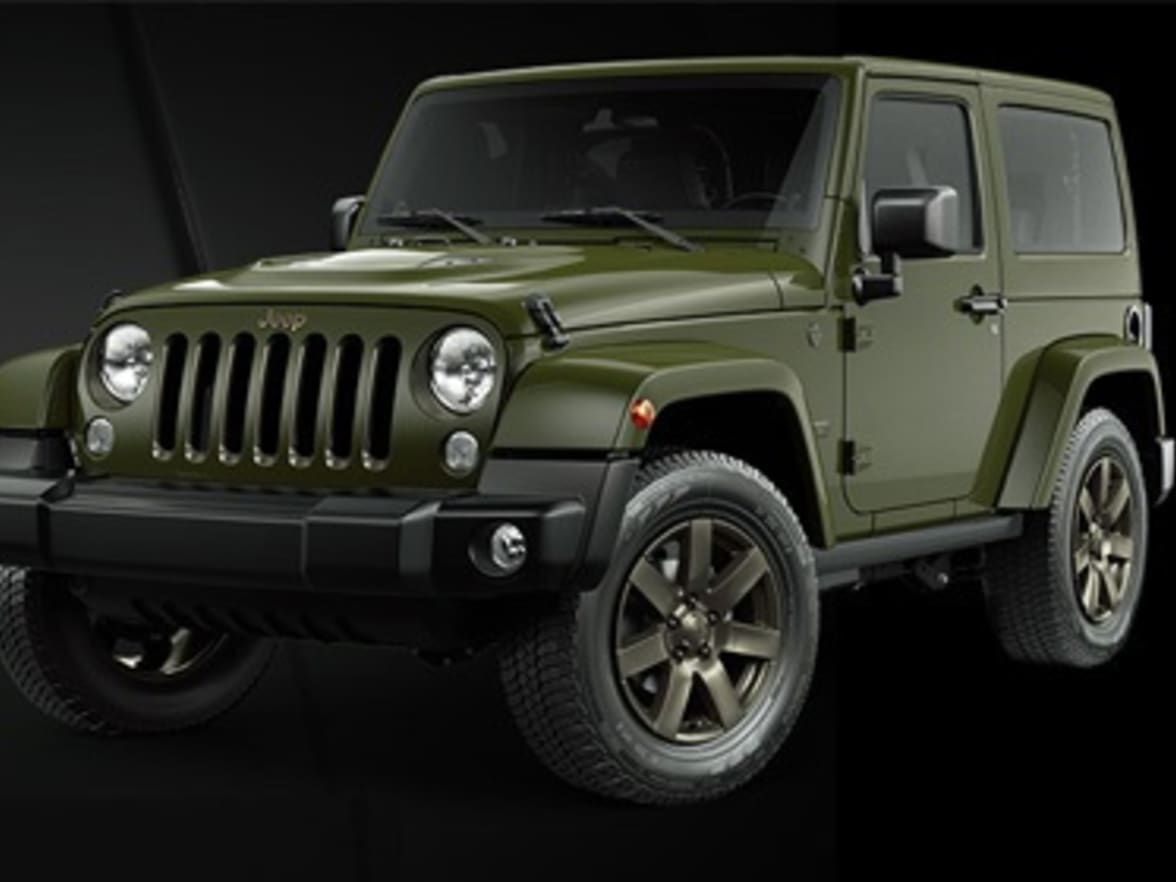 Jeep 75th Anniversary Editions Hughes Wrangler Outline For The 285 Horsepower Strong Pentastar V6 Or 200 28 Crd Engine Both Powerful Reasons To Celebrate Jeeps Special