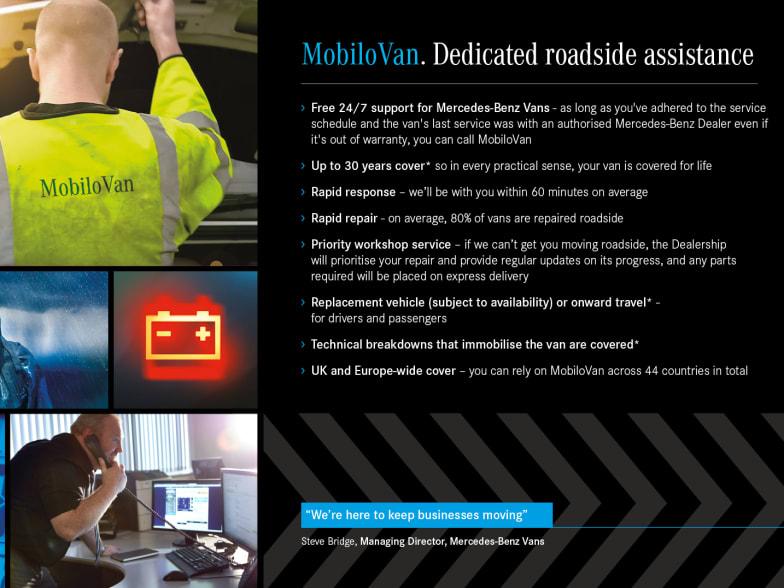Mercedes-Benz Van Breakdown Service | London, Essex
