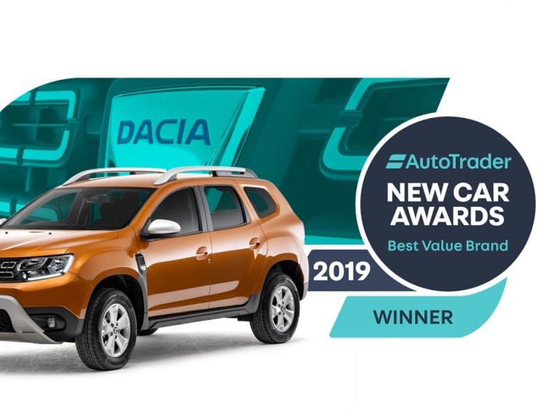 Double win for Dacia at Auto Trader New Car Awards 2019