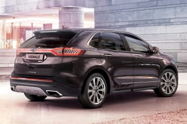 New Ford Edge Vignale Rear Side View