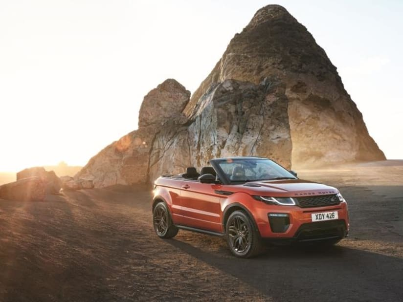 New Range Rover Evoque Convertible For Sale Lancaster Land Rover