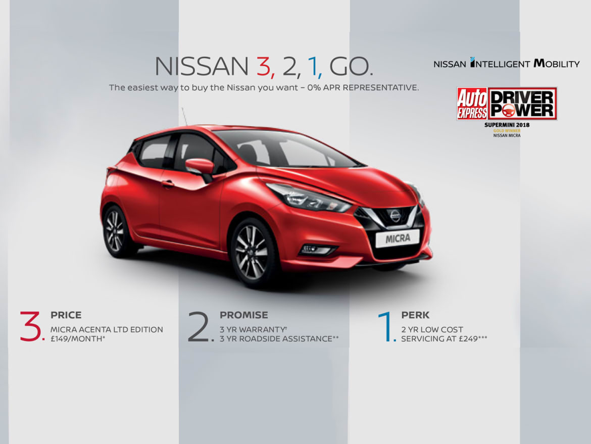Nissan Mirca Offer   Bristol, Cardiff And Gloucester   Wessex Garages Nissan
