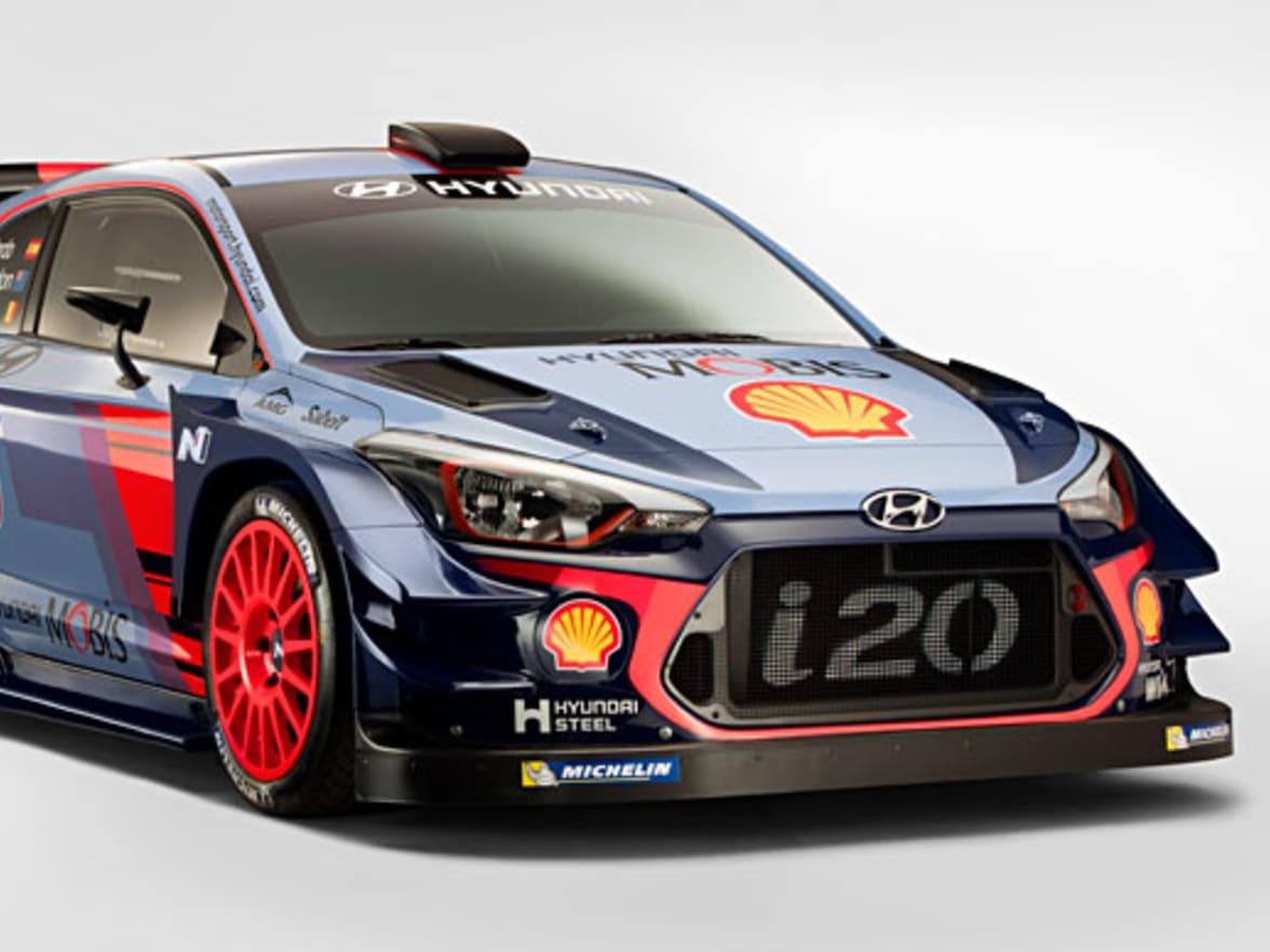 2017 Hyundai I20 Wrc Rally Car Full Specs Details