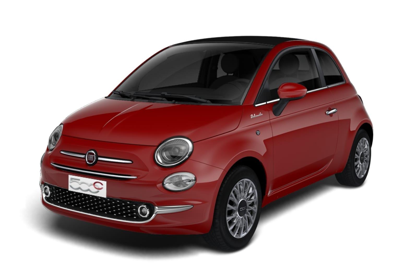 Fiat 500c 1.0 Hybrid DOLCEVITA [Part Leather]
