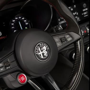 New Alfa Romeo Giulia Quadrifoglio Steering Wheel