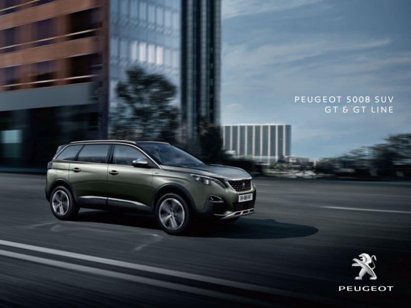 Brochure Peugeot 5008 GT & GT Line