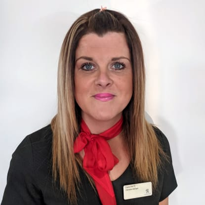 Claire Everitt - Aftersales Manager RRG Peugeot Oldham
