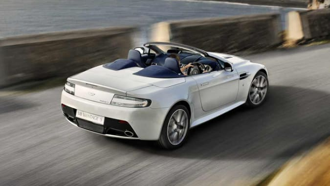 2011 Aston Martin V8 Vantage Coupe S 2dr Sportshift