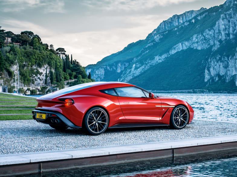 Aston Martin Vanquish Zagato Past Models Jardine Motors