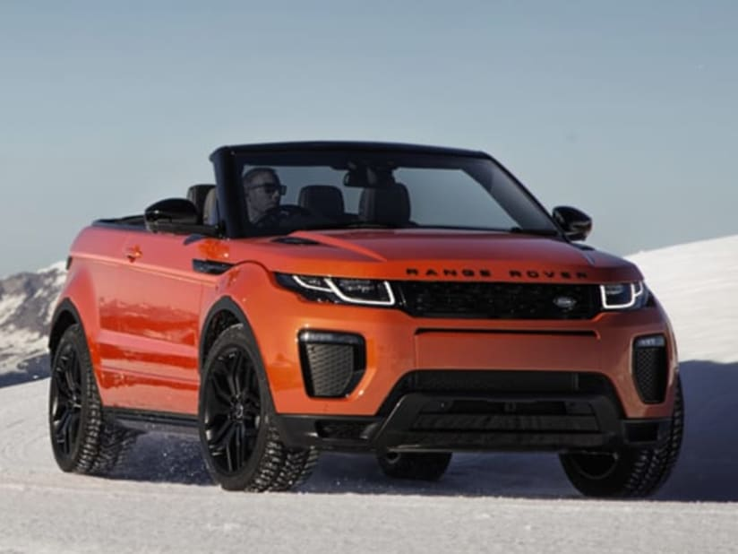 New Range Rover >> New Range Rover Evoque Convertible Westover Land Rover