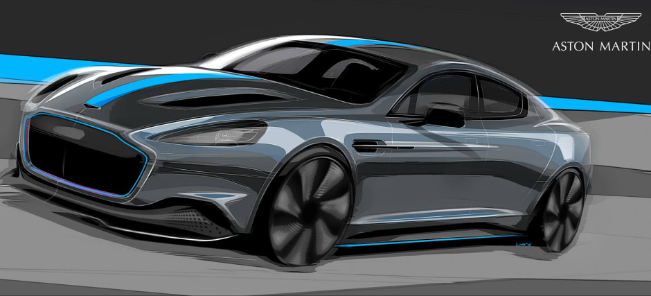 Aston Martin Announces First All Electric Model