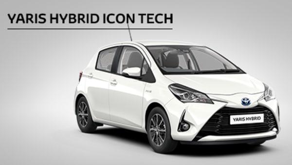 Yaris Hybrid Icon Tech