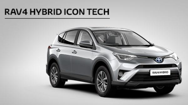 RAV4 Hybrid Icon Tech