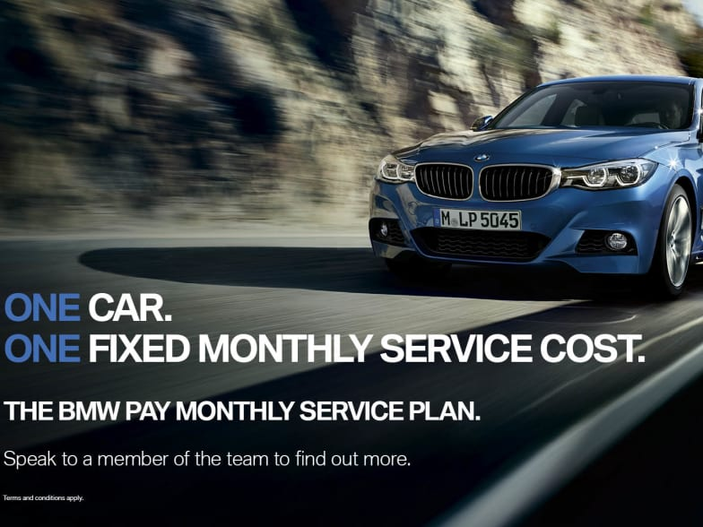 BMW Monthly Service Plan | Portsmouth & Isle of Wight